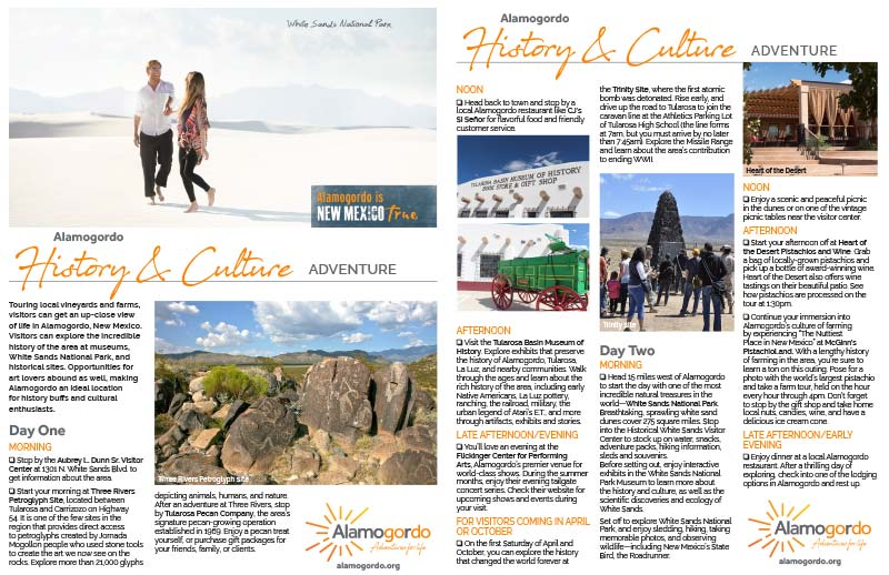 History and Culture Itinerary